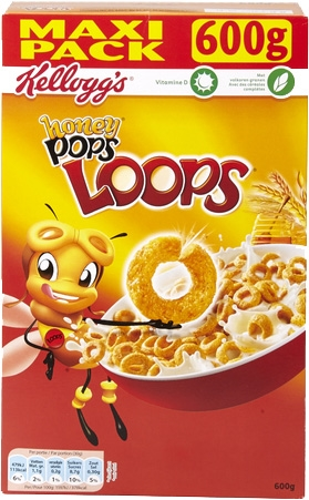 KELLOGG'S Honey Pops Loops: test, prijs en kenmerken