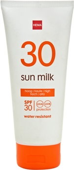 HEMA Sun milk | Zonnecrème, zonnelotion of zonnespray?