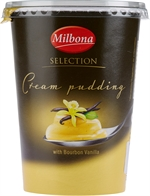 MILBONA (LIDL) Cream Pudding Selection met bourbon vanille 500g