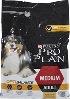 PRO PLAN OPTIBALANCE  MEDIUM ADULT RICH IN CHICKEN