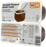 365 (DELHAIZE) Roomdessert chocoladesmaak