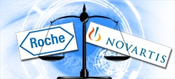 Klacht tegen onethisch gedrag van Roche en Novartis