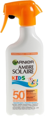 GARNIER Kids 50+ | Zonnecrème, zonnelotion of zonnespray?