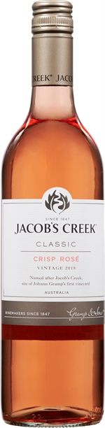 JACOB'S CREEK CLASSIC CRISP ROSÉ 2018